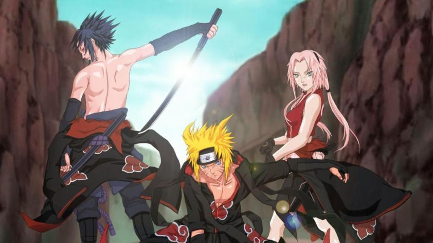 Naruto-Shippuden-Sakura-Sasuke-Akatsuki-Desktop-Wallpaper